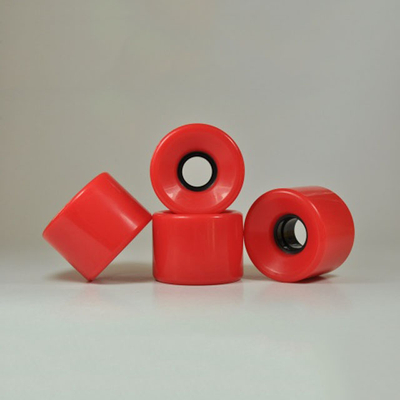 Kingsk8 80A Red Skateboard Wheels 6050