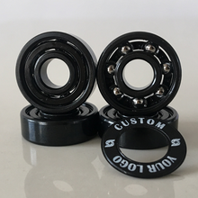 Kingsk8 Black Titanium Coating Skateboard Bearings